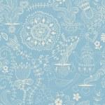 Retro coffee seamless pattern — Stock Vector #21643153