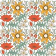 Floral seamless pattern. — Stock Vector #21724983