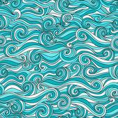 Sfondo di onde senza soluzione di continuità — Vettoriale Stock