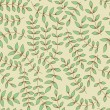 Seamless leaf pattern — 图库矢量图片
