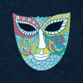 Carnival mask — Stock Vector