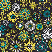 Floral seamless pattern — Stockvector