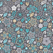 Floral seamless pattern — Vetorial Stock