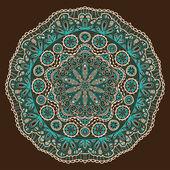Dekorativní krajky pattern — Stock vektor