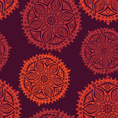 Retro background, lace seamless pattern — Stok Vektör
