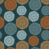 Retro background, lace seamless pattern — ストックベクタ