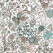 Royalty-Free Stock Imagen vectorial: Ornate floral seamless texture