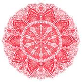 Декоративный кружевной образец — Cтоковый вектор