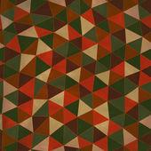 Seamless texture con triangoli, modello infinito mosaico — Vettoriale Stock