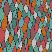 无缝抽象手绘波浪图案,波浪背景. — 图库矢量图片