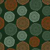 Retro background, lace seamless pattern — Vecteur