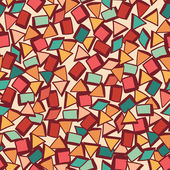 Seamless fabric texture with triangles — Stock Vector