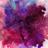 Ročník abstraktní ručně tažené akvarel zázemí — Stock fotografie