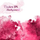 Resumen dibujado a mano fondo acuarela, ilustración vectorial, mancha acuarelas colores mojado en papel mojado. — Vector de stock