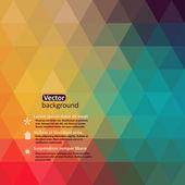 Patroon van geometrische shapes.texture met stroom van spectrum effect. geometrische achtergrond. kopiëren dat vierkant aan de kant, de resulterende afbeelding kan worden herhaald, of betegeld, zonder zichtbare naden. — Stockvector