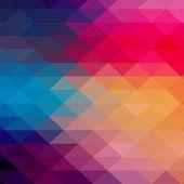 τρίγωνο ομοιογενές φόντο. ετικέτα ρετρό σχεδιασμό. τα γραφήματα c — Διανυσματικό Αρχείο
