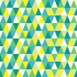 Seamless texture with triangles, mosaic endless pattern. That square design has the ability to be repeated or tiled without visible seams. — Stockvectorbeeld