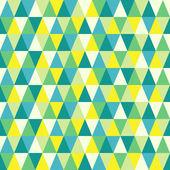 Naadloze textuur met driehoeken, mozaïek eindeloze patroon. dat vierkante ontwerp heeft de mogelijkheid om te worden herhaald of betegeld zonder zichtbare naden. — Stockvector