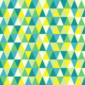 Seamless texture with triangles, mosaic endless pattern. That square design has the ability to be repeated or tiled without visible seams. — Stockvector
