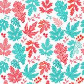 Fondo pattern.leaf hoja transparente. otoño de patrones sin fisuras. — Vector de stock