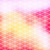 Vector geometric pattern with triangles — Stockvector