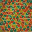 Seamless texture with triangles, mosaic endless pattern. Seamles — Stock Photo
