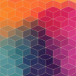 Stock Photo: Geometric pattern with geometric shapes, rhombus. That square d