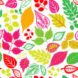 Seamless leaf pattern.Leaf background. Autumn seamless pattern. — Stock Photo