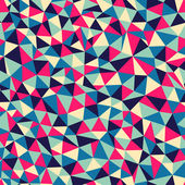 Seamless texture with triangles, mosaic endless pattern — Stock Photo