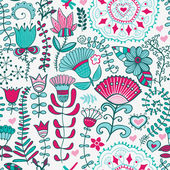 Abstract floral background, summer theme seamless pattern, wallp — Stock Photo