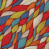 Seamless abstract hand-drawn pattern, waves background — Stock Photo