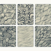 Fashion tablet skins. Modern abstract backgrounds with wave line — Stock Photo