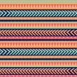 Seamless tribal texture. Tribal pattern. Colorful ethnic striped — Stock Photo #39911659