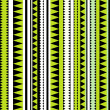Seamless tribal texture. Tribal pattern. Colorful ethnic striped — Stock Photo