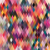 Pattern of geometric shapes, rhombic.Texture with flow of spectr — Stock Photo
