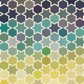 Background of repeating geometric stars. Spectrum geometric back — Stock Photo