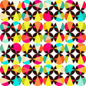 Pattern of geometric shapes.Texture with flow of spectrum effect — Stock Photo