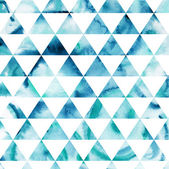 Triangles pattern of geometric shapes. Colorful mosaic backdrop. — Foto de Stock