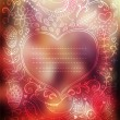 Vector Valentine's Day background. Blurred template, holiday. In — Vetorial Stock