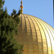 Gold Dome of the rock — Stock Photo #1268146