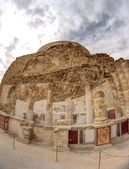 Massada fortress in judean desert — Stock Photo