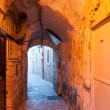Stock Photo: Old jerusalem streets