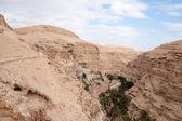 Saint george kloster in judean wüste — Stockfoto