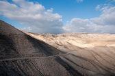 Hiking in judean desert — Stock Photo