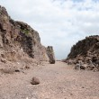 Stock Photo: Belvoir castle ruins in Galilee