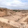 Stock Photo: King Herod's palace ruins