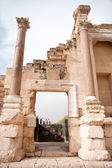 Ancient ruins in Israel travel — Stock Photo