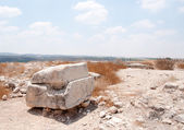 Archaeology excavations in Israel — Stock Photo
