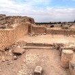 King Herod's palace ruins — Stock Photo