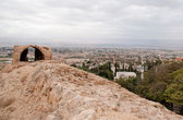 Jericho in judean desert — Stock Photo